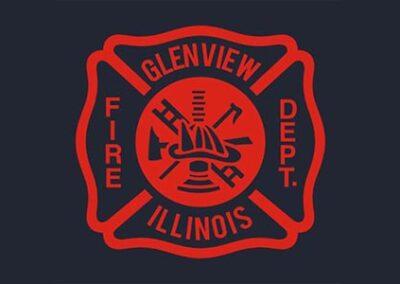 Glenview Fire Dept. logo